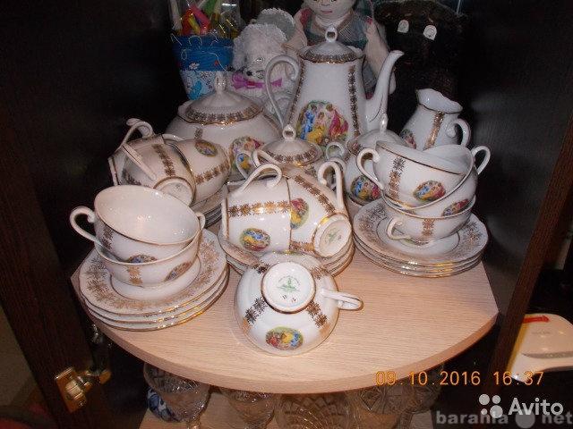 """Продам Чайный сервиз и Кофейный сервиз """"М"""
