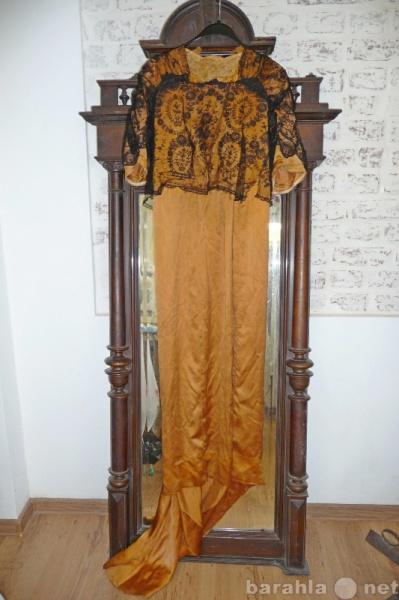 Продам старинное женское платье
