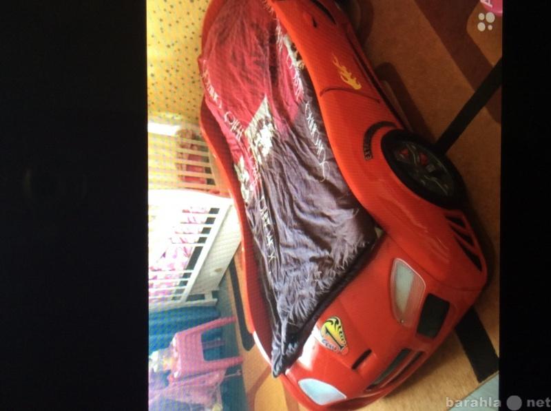 Продам Кровать машина пластиковая
