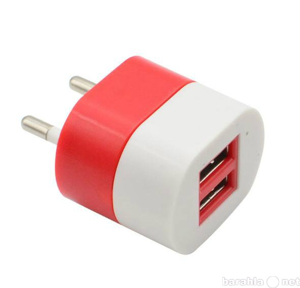 Продам USB зарядку от сети на 2 устройства