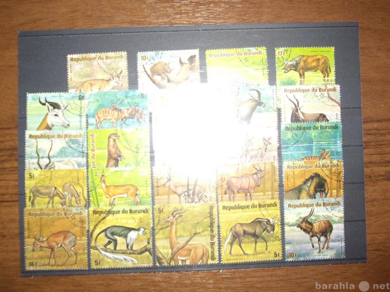 Продам марки и открытки