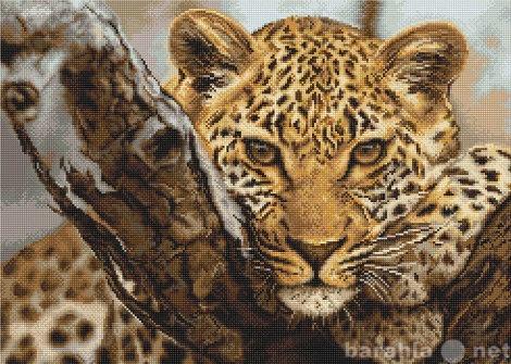 """Продам Картина ручной работы """"Леопард"""""""