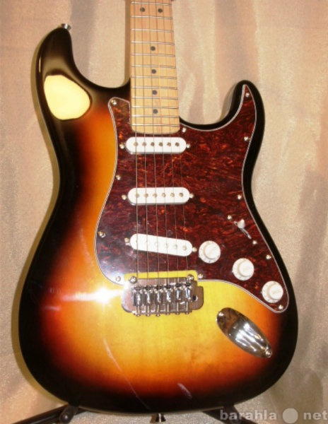 Продам Fender Custom Shop Stratocaster Sunburst
