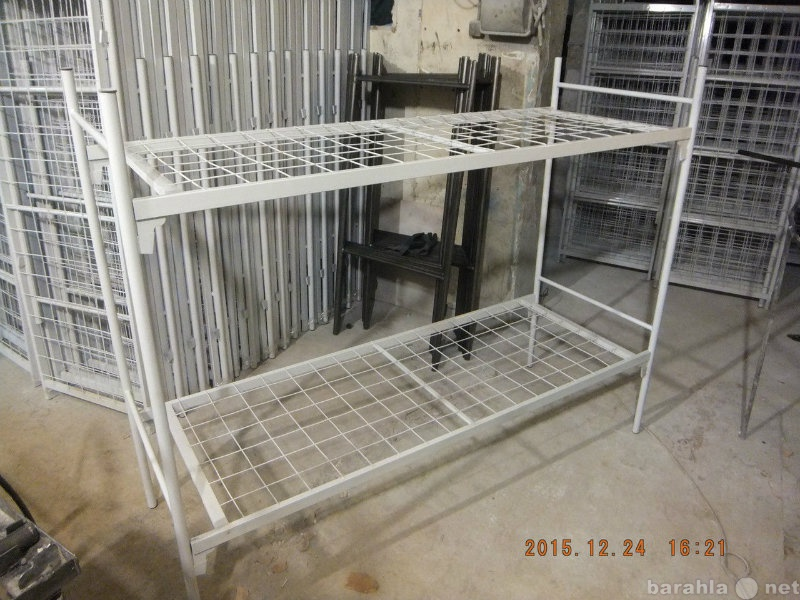 Продам Кровати металлические для рабочих