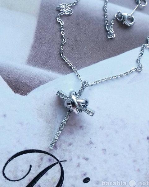 Продам Подвеска Крестик Forever Silver на цепоч