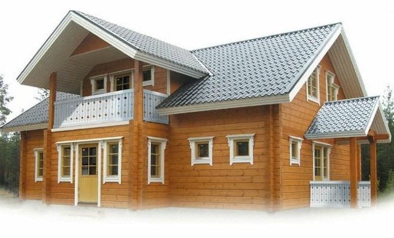 Предложение: Дачные дома из клееного бруса