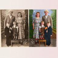 Предложение: Черно-белые фото в цветные
