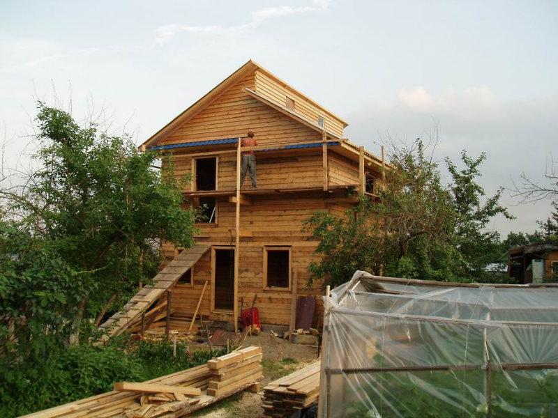 Предложение: строим дома, бани из бруса