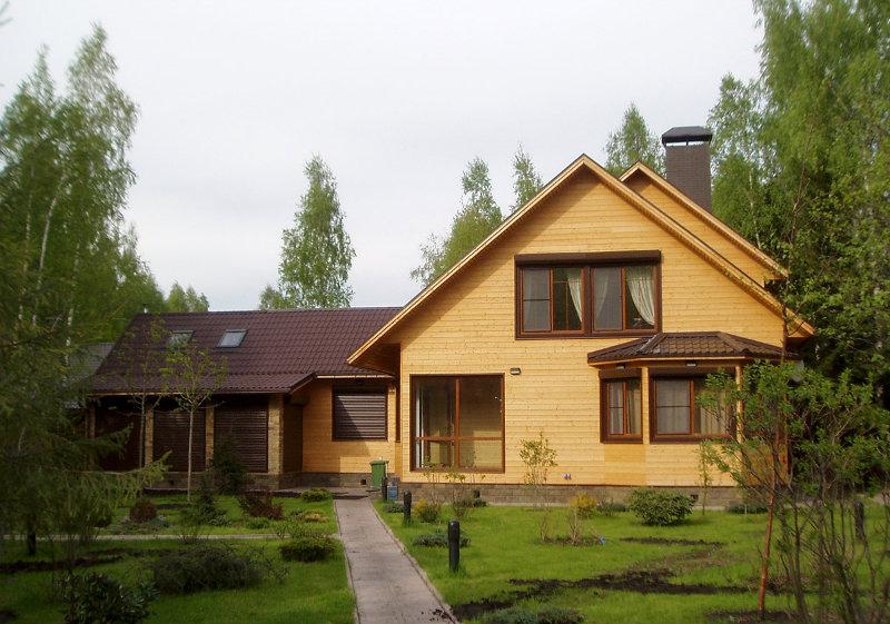 Предложение: Дома из профилированного клееного бруса