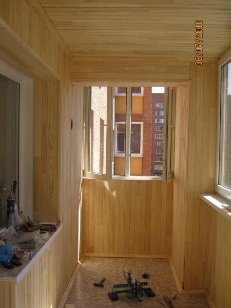 Предложение: отделка балконов,лоджий