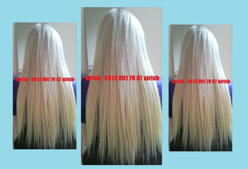Предложение: Наращивание натуральных волос недорого.