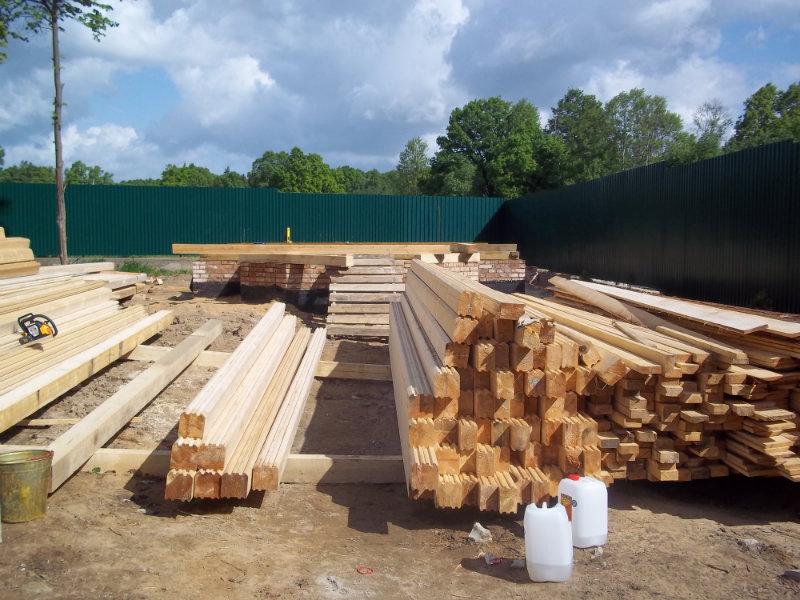 Предложение: строительство. деревянные дома. срубы.