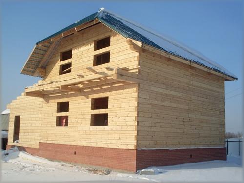 Предложение: деревянные дома от фундамента под ключ