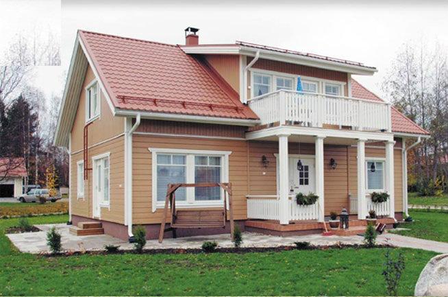 Предложение: Дома из клееного бруса и термобруса