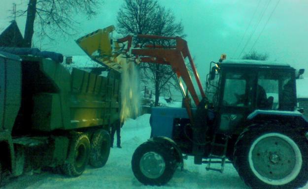 Предложение: Вывоз снега и мусора КамАЗ