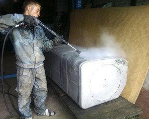 Предложение: Ремонт топливных баков – сварка аргоном