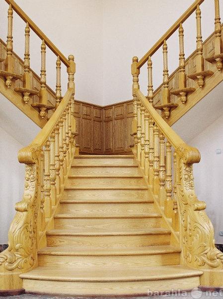 Предложение: Изготовление деревянных лестниц, дверей