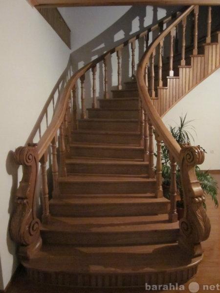 Предложение: Монтаж лестницы из дерева в Чехове,