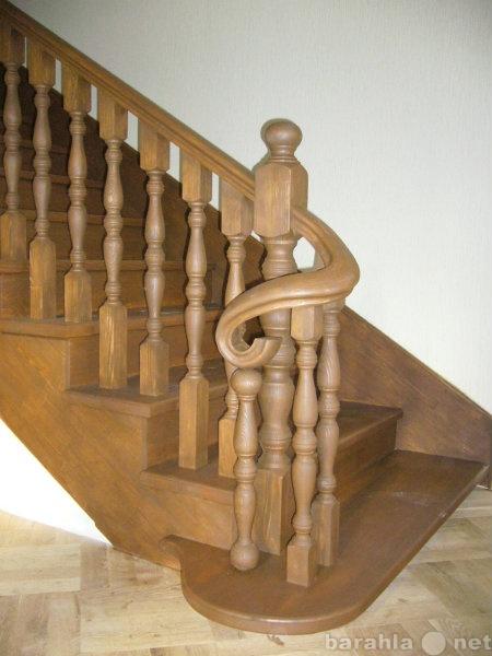 Предложение: Монтаж лестницы из дерева