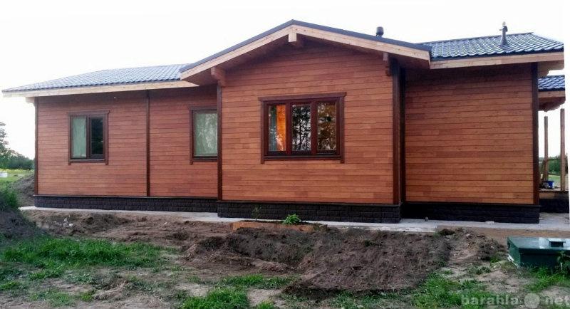 Предложение: Недорогие дома из клееного бруса
