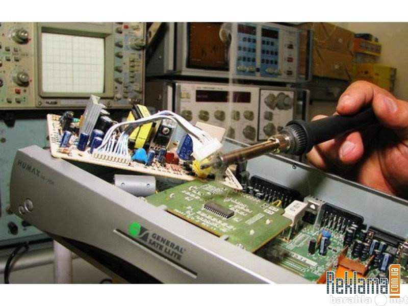 Предложение: Тестирование и ремонт спутниковых ресиве