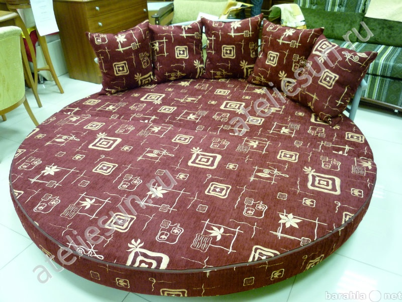 Предложение: Пошив чехлов и подушек на круглые кроват