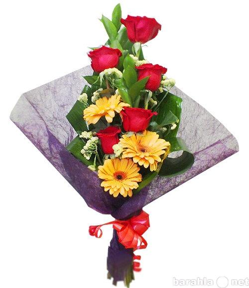 Вертикальный букет из хризантем, букеты фиолетовый