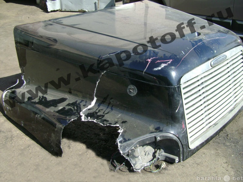 Предложение: Ремонт капота грузовика, катка, тягача.