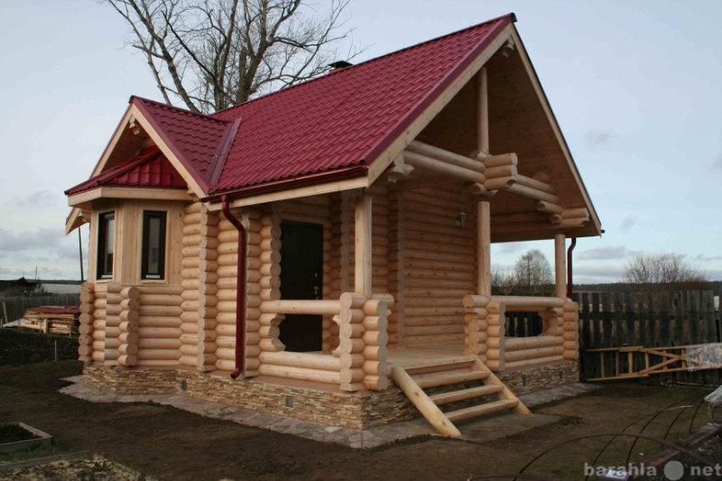Предложение: Строим дома, бани из оцилинрованного бре