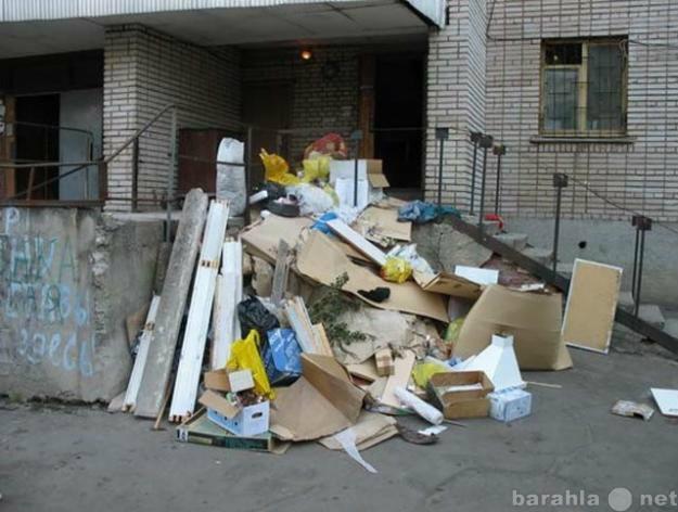 Предложение: Вывоз мусора и подъём стройматериала
