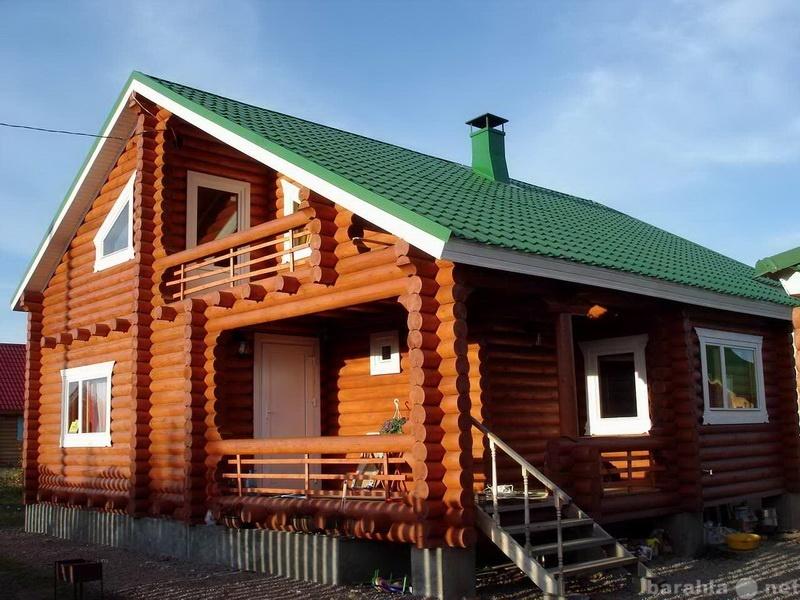 Предложение: Срубы для бани и дома из зимнего леса