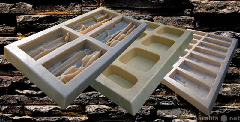Предложение: Формы резиновые для декоративного камня