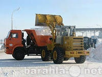 Предложение: Уборка, вывоз и утилизация снега.
