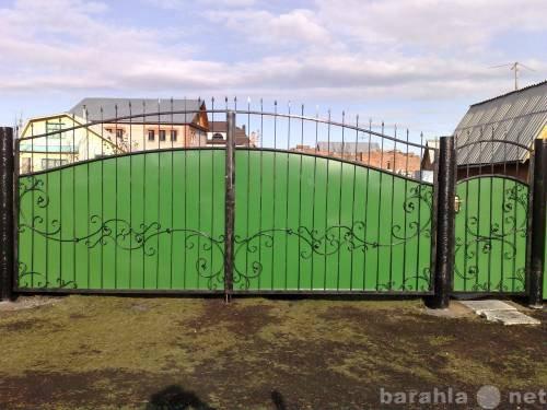 Предложение: изготовление ворот распашных и откатных