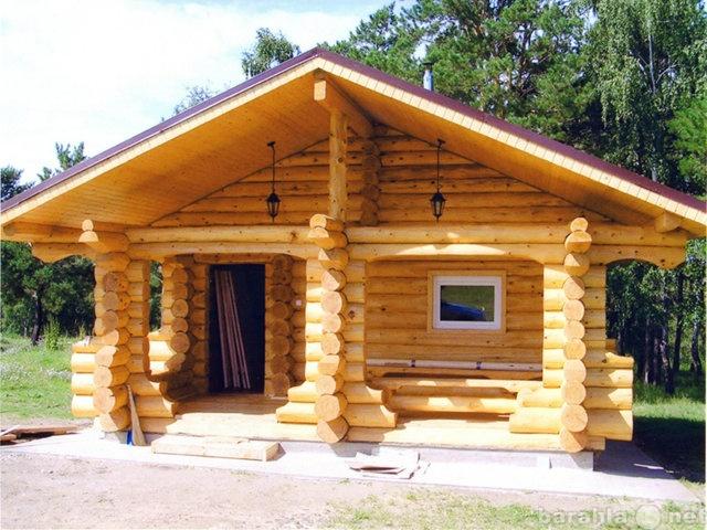 Предложение: Срубы домов и бань из сосны