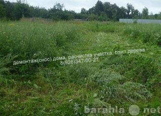 Предложение: Покос травы, бурьяна, сухостоя.