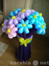 Предложение: Корзинки и букеты из воздушных шаров