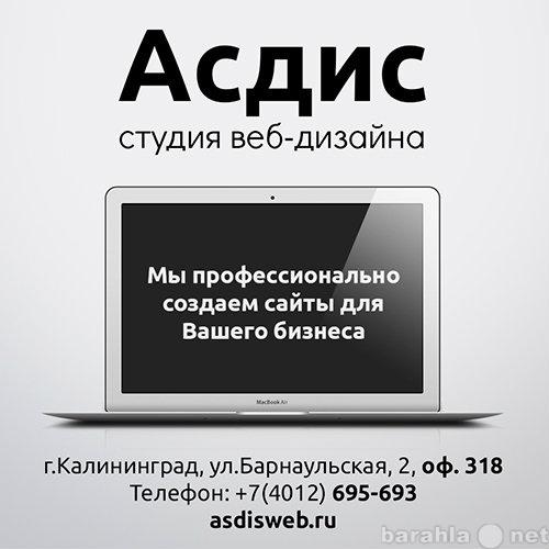 Бесплатное создание сайта калининград акция продвижение сайта