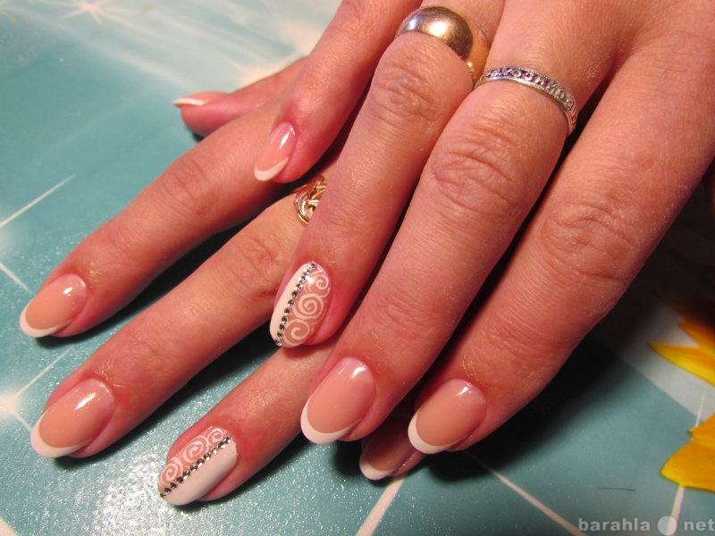 Предложение: Наращивание и коррекция ногтей гелем