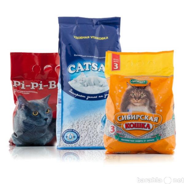 Предложение: Корма,наполнители  для кошек с доставкой
