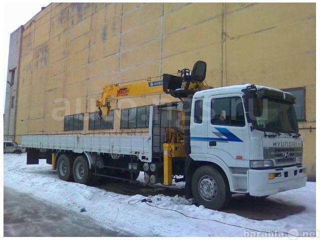 Предложение: Аренда Манипулятора 7 тонн кран