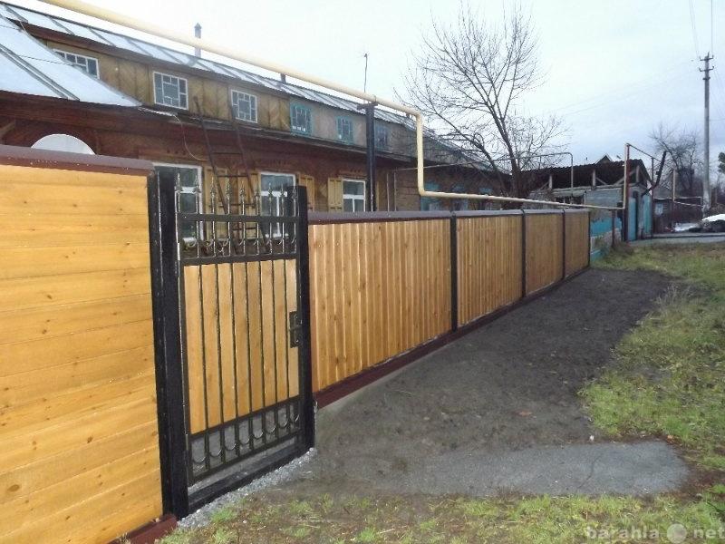 Предложение: Изготовим ворота, заборы, решётки, двери
