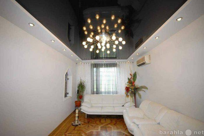 Предложение: Натяжные потолки, ремонт, отделка