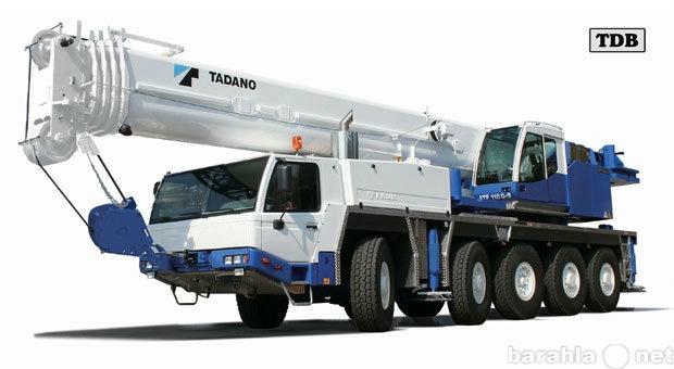 Предложение: Автокран 100 тонн, стрела 68 м.