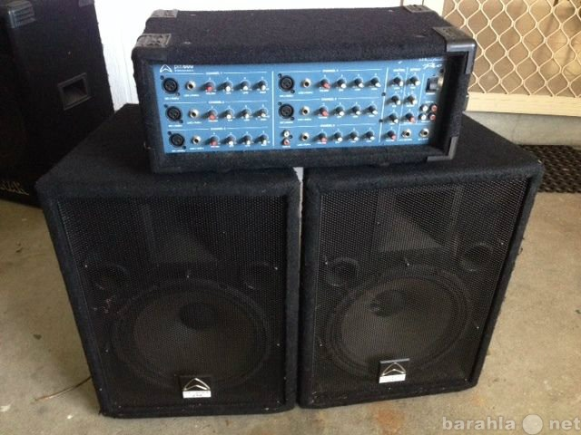 Предложение: Звуковое оборудование напрокат