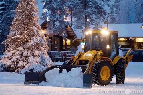 Предложение: Уборка снега экскавтор-погрузчик JCB4CX