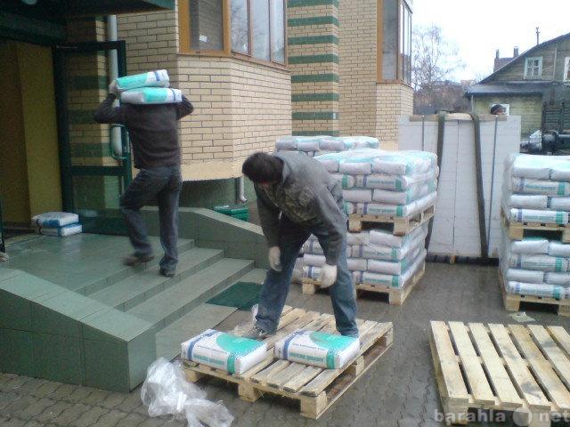 Предложение: Подъем строительных материалов на этаж