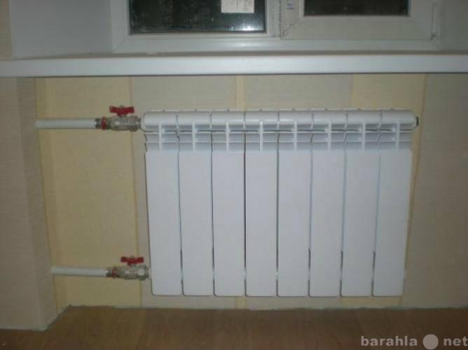 Предложение: Установка  радиатора отопления 24-21-12