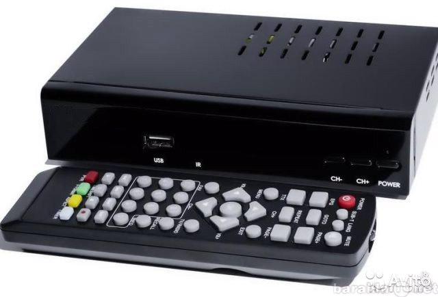 Предложение: Цифровое телевидение, цифровая приставка