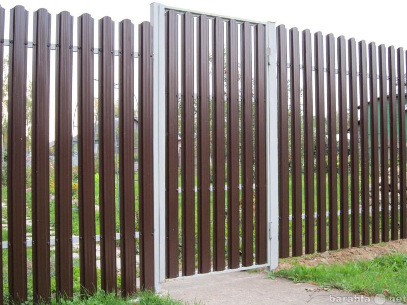 Предложение: Забор из Металлоштакетника
